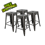 "MonsterRax 24"" Stacking Stool (Pack of 4)"