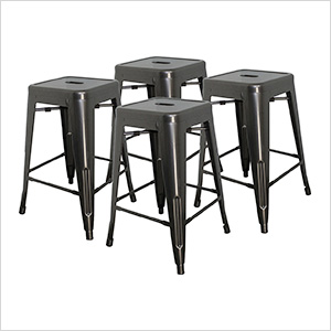 "24"" Stacking Stool (Pack of 4)"