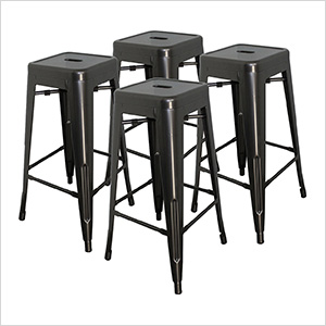 """30"""" Stacking Stool (Pack of 4)"""