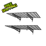"MonsterRax 48"" x 24"" Wall Shelves (2-Pack)"