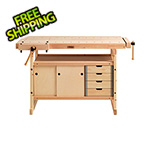 Sjobergs Hobby Plus 1340 Workbench with Cabinet and Accessory Combo