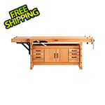Sjobergs Elite 2500C Workbench with SM04 Cabinet Combo