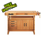 Sjobergs Scandi Plus 1425 Workbench with SM03 Cabinet Combo and Accessory Kit