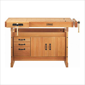 Scandi Plus 1425 Workbench with SM03 Cabinet Combo and Accessory Kit