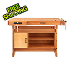 Sjobergs Scandi Plus 1425 Workbench with SM07 Cabinet Combo and Accessory Kit