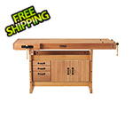 Sjobergs Scandi Plus 1825 Workbench with SM03 Cabinet Combo and Accessory Kit
