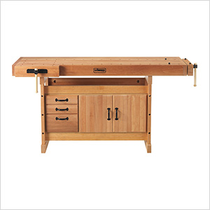 Scandi Plus 1825 Workbench with SM03 Cabinet Combo and Accessory Kit