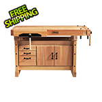 Sjobergs Elite 1500 Workbench with SM03 Cabinet Combo and Accessory Kit