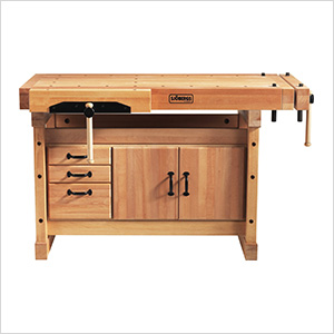 Elite 1500 Workbench with SM03 Cabinet Combo and Accessory Kit