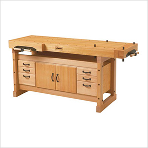 Elite 2000 Workbench with SM04 Cabinet Combo and Accessory Kit