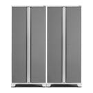 NewAge Garage Cabinets 2 x PRO 3.0 Series White Multi-Use Lockers