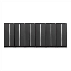6 x PRO 3.0 Series Grey Multi-Use Lockers