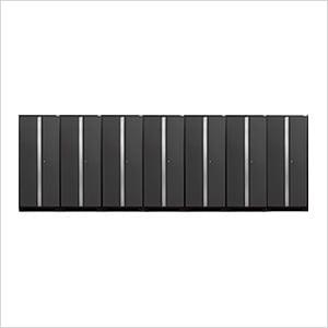 7 x PRO 3.0 Series Grey Multi-Use Lockers