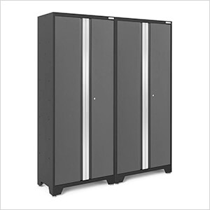 2 x BOLD 3.0 Series Grey Lockers