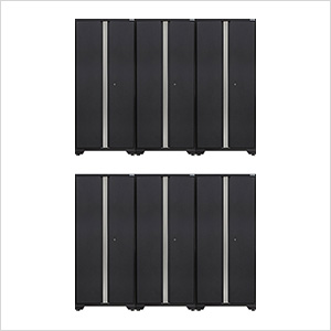 6 x BOLD 3.0 Series Grey Lockers