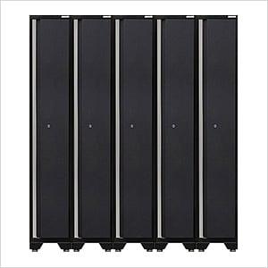 5 x PRO 3.0 Series Grey Sports Lockers