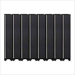 8 x PRO 3.0 Series Grey Sports Lockers