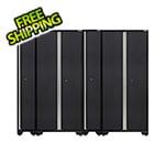 NewAge Garage Cabinets PRO 3.0 Series Grey 2 x Multi-Use Lockers and 2 x Sports Lockers Set