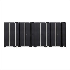 PRO 3.0 Series Grey 4 x Multi-Use Lockers and 4 x Sports Lockers Set