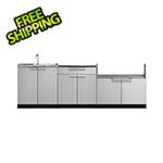 NewAge Outdoor Kitchens Stainless Steel 3-Piece Outdoor Kitchen Set