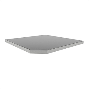 BOLD Series Corner Stainless Steel Top