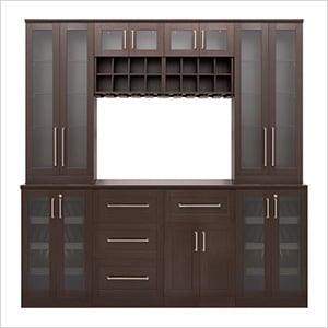 "Espresso 9-Piece Cabinet Set - 21"""