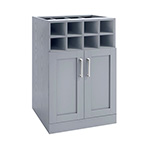 NewAge Home Bar Grey Wine Storage Cabinet - 21""