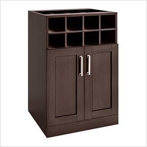 "Espresso Wine Storage Cabinet - 21"""
