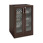 NewAge Home Bar Espresso Display Cabinet - 21""