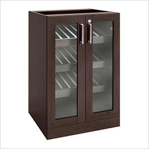 """Espresso Display Cabinet - 21"""""""