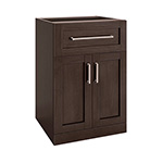 NewAge Home Bar Espresso 2-Door with Drawer Cabinet - 21""