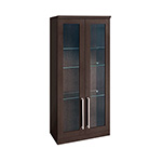 NewAge Home Bar Espresso Tall Wall Cabinet - 21""