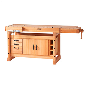SB119 Professional Workbench with SM05 Cabinet Combo
