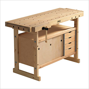Nordic Plus 1450 Workbench with 00-42 Storage Cabinet Combo
