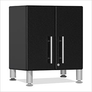2-Door Mini Base Cabinet in Midnight Black Metallic
