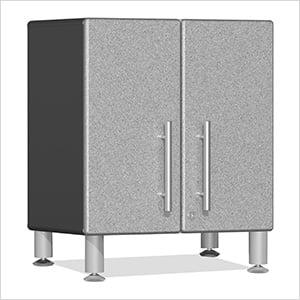 2-Door Mini Base Cabinet in Stardust Silver Metallic