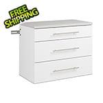 "Prepac HangUps 3-Drawer 30"" Base Storage Cabinet"