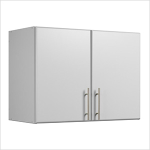 "Elite 32"" Light Grey Stackable Wall Cabinet"
