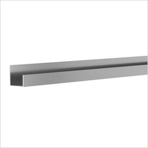 "49.75"" Aluminum Slatwall J Trim"