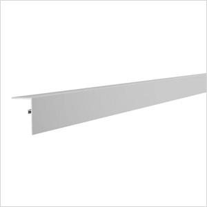 """48.5"""" Aluminum Slatwall L Trim"""