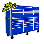 "Proslat Blue 72"" Rolling Tool Chest Combo"
