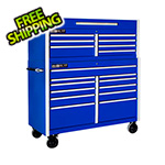 "Proslat Blue 54"" Rolling Tool Chest Combo"