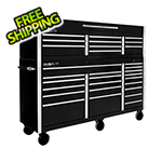 "Proslat Black 72"" Rolling Tool Chest Combo"