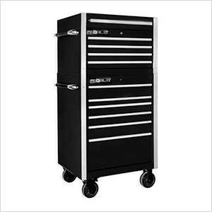 """Black 30"""" Rolling Tool Chest Combo"""