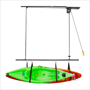 Dual Canoe and Kayak 220 lb. Lift Kit