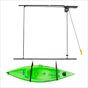 Single Canoe and Kayak 220 lb. Hoist Kit