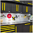 Fusion Pro 5-Piece Garage Workbench System (Yellow)