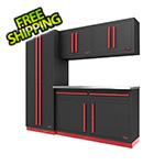 Proslat Fusion Pro 5-Piece Garage Cabinet System (Barrett-Jackson Edition)