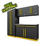 Proslat Fusion Pro 5-Piece Garage Cabinet System (Yellow)