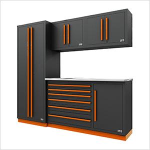 Fusion Pro 5-Piece Tool Cabinet System (Orange)